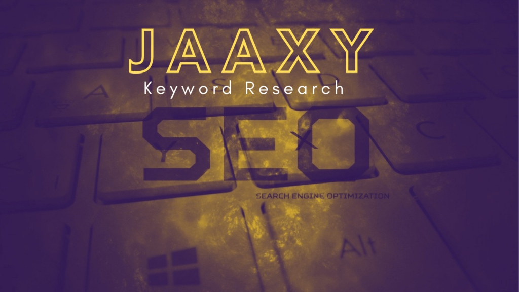 What is the Jaaxy Keyword Research Tool