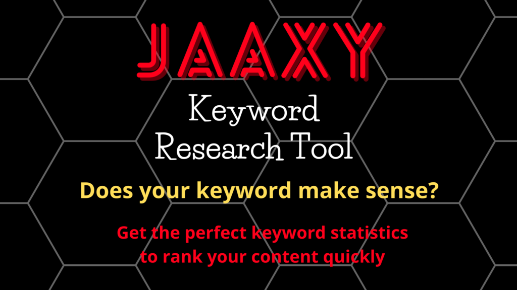 Jaaxy_Keyword_Tool