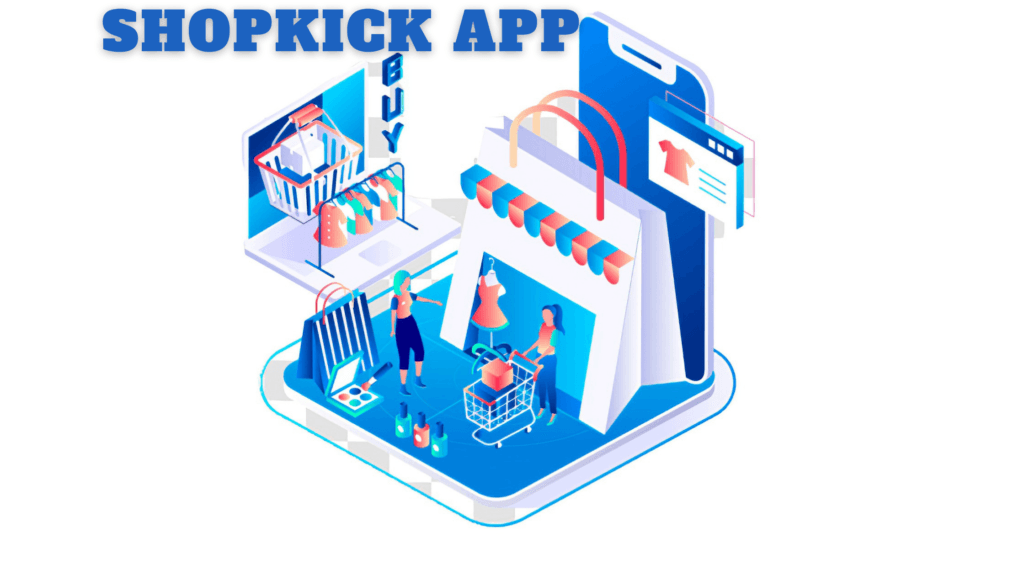 How does the shopkick app work