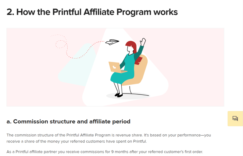 Printful Affiliate program