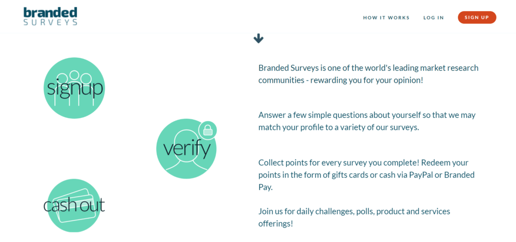 Branded Surveys How to earn