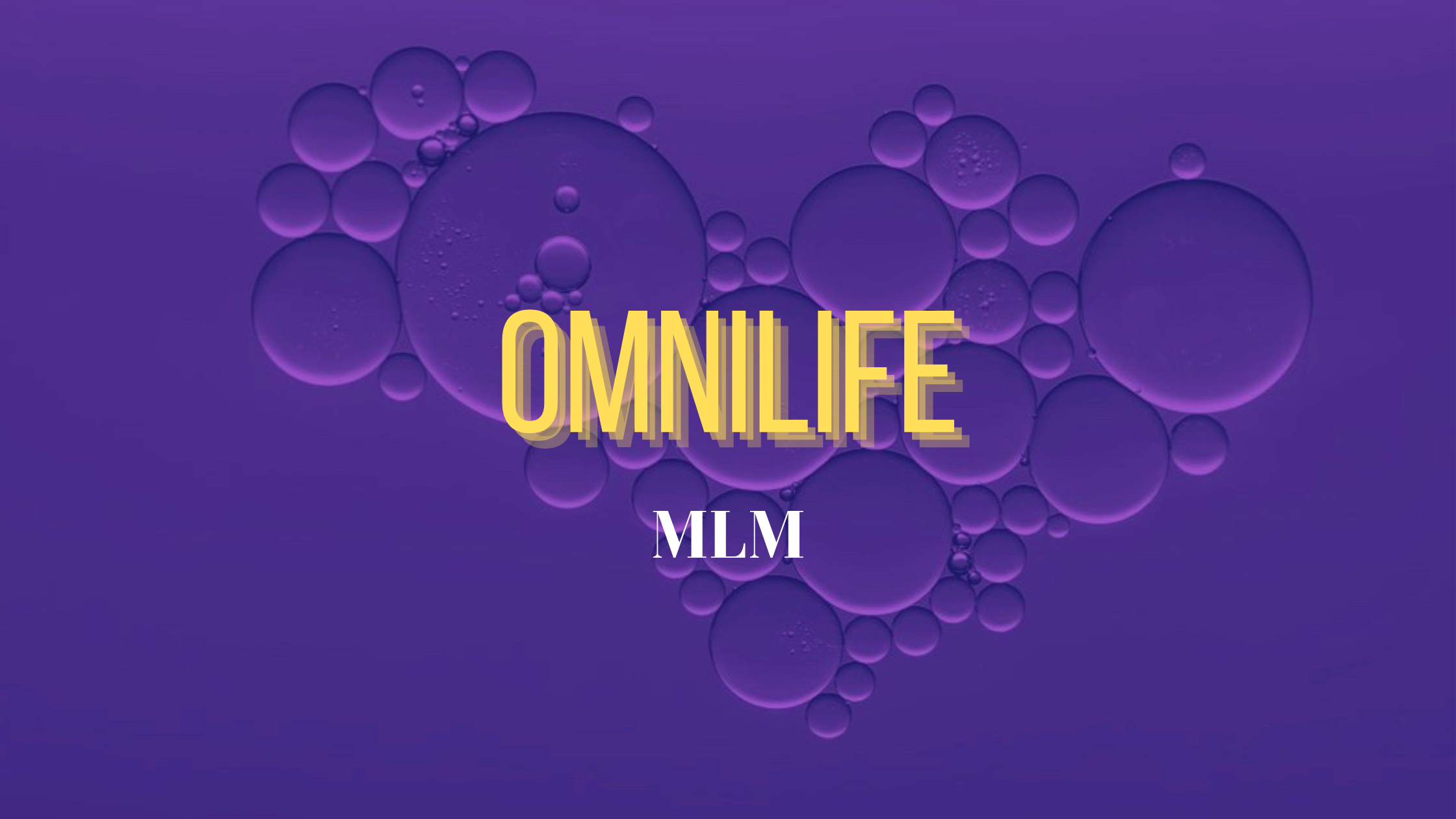 Is Omnilife a scam